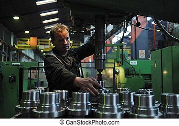 люди, workers, завод, промышленность