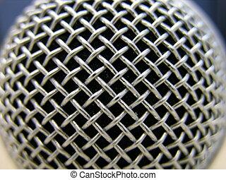 макрос, микрофон