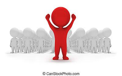 маленький, volunteers, -, 3d, люди