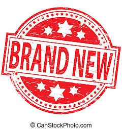 марка, печать, новый