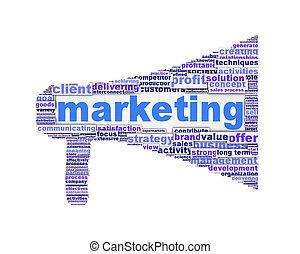 маркетинг, символ, белый, дизайн, isolated