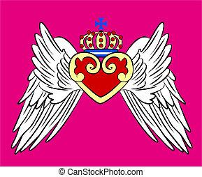 марочный, корона, герб