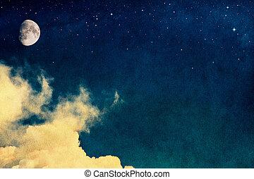 марочный, луна