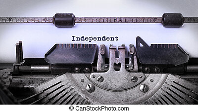 марочный, печатная машинка