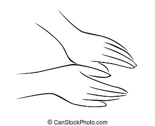массаж, рука