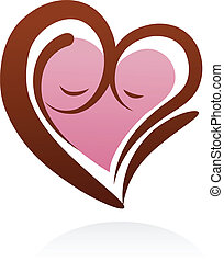 материнство, символ, значок