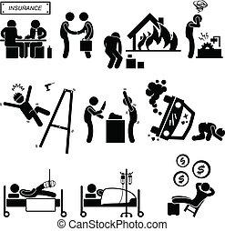 медицинская, авария, страхование, охват