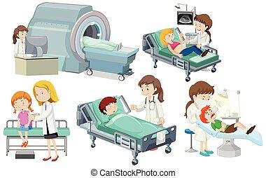 медицинская, задавать, забота