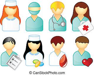 медицинская, задавать, люди