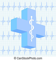 медицинская, задний план