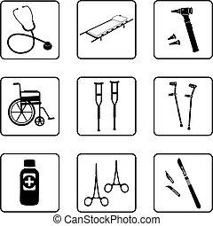 медицинская, инструменты