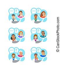 медицинская, консультация, doctors, patients, онлайн