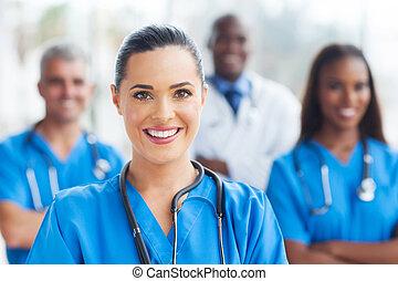 медицинская, colleagues, медсестра