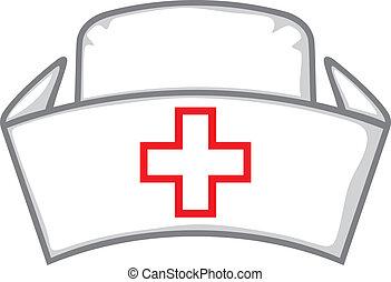 медсестра, кепка