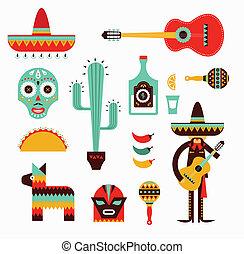 мексика, icons