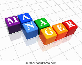 менеджер, цвет