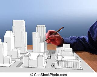 мечта, architect's