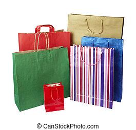 мешок, стимулирование потребительского интереса, розничная торговля, поход по магазинам