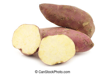милая, порез, картофель, один