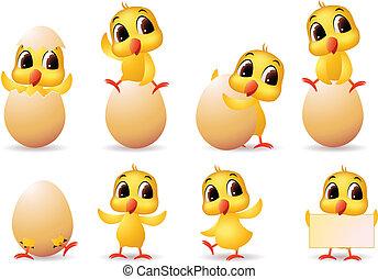 милый, немного, chicks