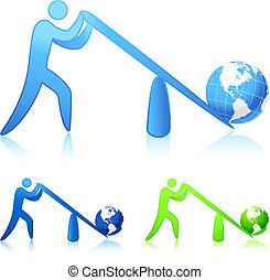 мир, (leverage), lifting