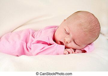 младенец, спать
