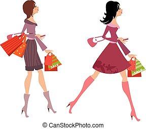 мода, ваш, покупка, girls, дизайн