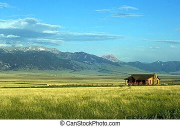 монтана, ранчо