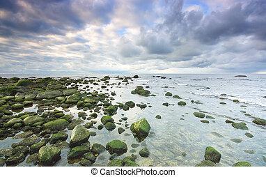 море, пейзаж