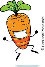 морковь, прыжки