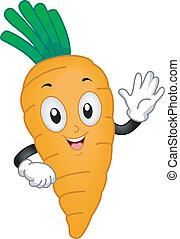 морковь, талисман