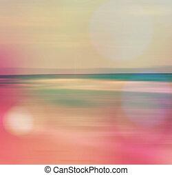 морской пейзаж, абстрактные, море