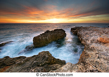 морской пейзаж