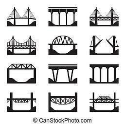мосты, различный, types
