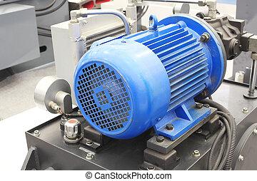 мощный, промышленные, современное, motors, оборудование, электрический