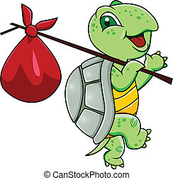 мультфильм, черепаха