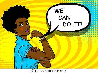 мы, женщина, african-american, это, черный, можно