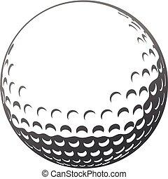 мяч, гольф