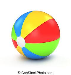 мяч, пляж