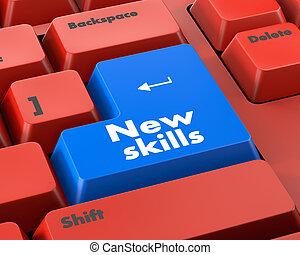 навыки, новый