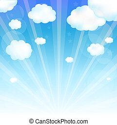 небо, облако