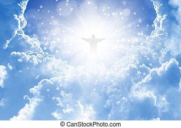 небо, христос