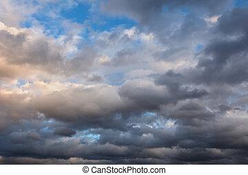 небо, штормовой