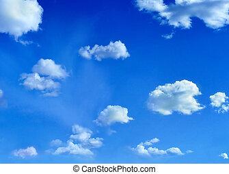 небо, clouds