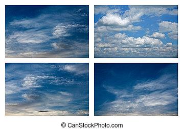 небо, clouds.