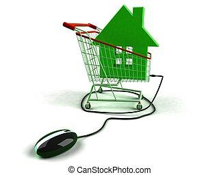 недвижимость, онлайн