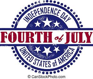 независимость, день, четвертый, июль