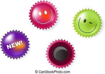 новости, улыбается, magnets, icons