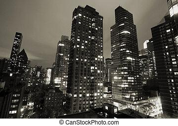 новый, йорк, город
