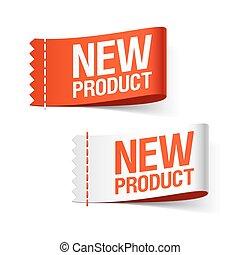 новый, продукт, labels